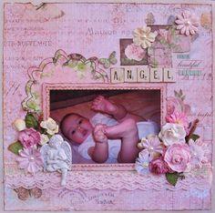 Our beautiful little angel by mumluvu on scrapbook.com