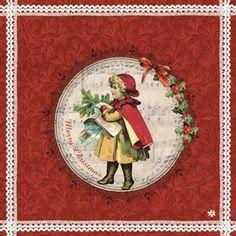 Paquet de 20 serviettes Merry Christmas Déco de table Jolies serviettes en papier pour votre décoration de table Dimensions: 33 x 33 cm en vente sur la boutique de décoration Lilie Rose Déco.