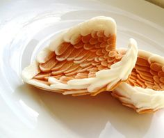 A beautiful reminder of some friends I've lost.                     Angel wings...soap .....etsy