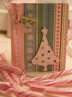 Christmas card handmade by Love taking photos