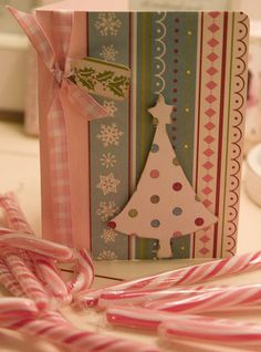 Christmas card handmade by Love taking photos, via Flickr