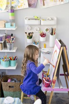 children art easel