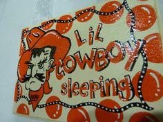 Oklahoma State University Cowboys Baby by TheCrazyPolkaDot on Etsy, $21.00