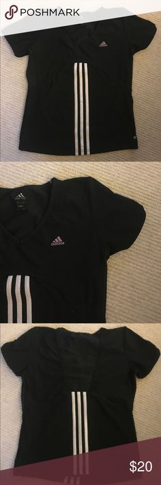 Authentic adidas sports shirt Authentic Adidas sports shirt-great for causal work outs. Fits medium Adidas Tops Tees - Short Sleeve