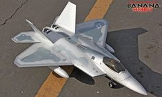 4 CH HSD | Air Epic F-22 Raptor V3 RC EDF Jet RTF