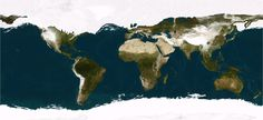 Maps BLOG: World map of the Ice Age
