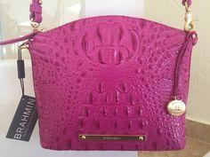 Brahmin Mini Duxbury Dahlia Melbourne Leather K50151DH | eBay