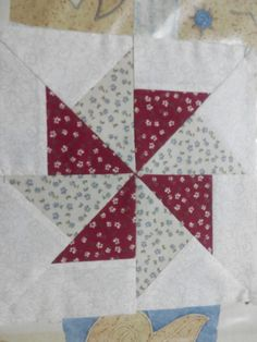Tutorial Patchwork, Quilt Block Patterns, Pattern Blocks, Quilt Blocks, Quilting Tutorials, Quilting Projects, Pinwheel Quilt, Quilt Of Valor, Foundation Paper Piecing