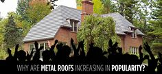 As the leading metal roofer in North Carolina, McCarthy Metal Roofing sets the standard for quality products, expert service, and total customer satisfaction. When you choose McCarthy Metal Roofing, you can expect long-lasting beauty and worry-free protection. http://northcarolinametalroofs.com/metal-roofs-popularity/
