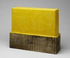 Johannes Girardoni, Drip Box-Cadmium Yellow Deep, 2004, Harvard Art Museums/Fogg Museum.