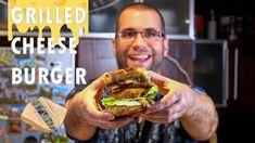 OMG! Itt a Jani-féle GRILLED CHEESE BURGER!!!!🧀🍔 Grilled Cheese Burger, Hamburger, Grilling, Tacos, Ethnic Recipes, Food, Meal, Hamburgers, Crickets