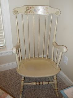 Ethan Allen Rocker Quot Old Tavern Quot Finish Gives This Great
