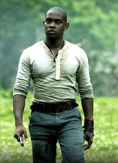 Aml Ameen as Alby in The Maze Runner.