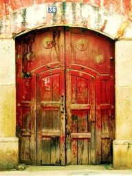 Door, Antigua, Guatemala by Michael R. Swigart, via Flickr