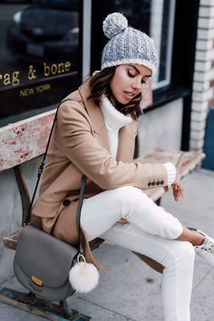 Casual Winter Whites / pictured: Annabelle Fleur / Krisztina Clifton Living / http://www.krisztinaclifton.com/2016/01/casual-winter-whites.html#more