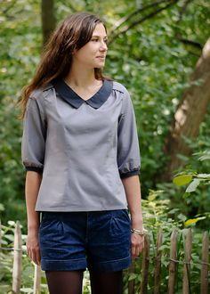 modèle couture blouse 15