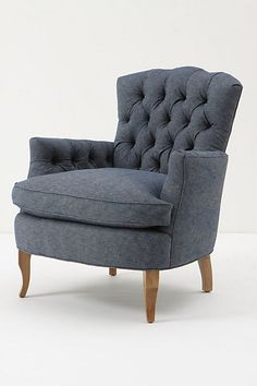 The search for the perfect reading armchair... Marjorie Chair - Anthropologie.com