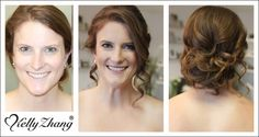 Kellyzhang's Blog » Wedding makeup and hair team