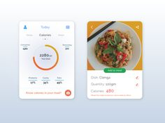 Calorie Counter - Health by Abhinav Gupta