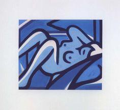 Blue Nude   Tom Wesselmann, Blue Nude (2000)