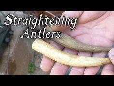 Deer Antler Crafts, Antler Art, Bullet Casing Jewelry, Antler Knife, Moose Antlers, Bone Crafts, Primitive Survival, Walking Sticks And Canes, Bone Carving