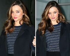 We love Miranda's effortless beauty, here's how to get it!