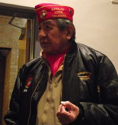 WWII vets, Code Talker bring history to 8th-graders