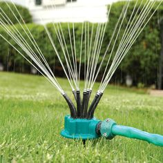 360 Degrees Sprinkler Automatic Multihead Garden Tools Irrigation Spray Shower