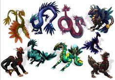 spore dragons