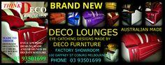 brand new Australian made. made by deco furniture 100 Gaffney st coburg melbourne 03 93501699 facebook ( deco furniture  www.facebook.com/DecoFurniture.com.au.