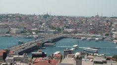 istanbul vue du haut de la tour de galata