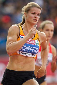 Dafne Schippers, Europees atlete van het jaar 2014.