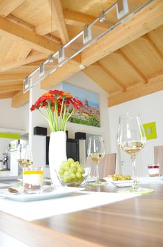 Modern Interior Dining Room Decoration Flower Urlaubs-Feeling Poster Picture