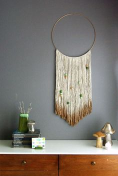 Flawless 150+Best Decorative Wall Hangings https://decoratoo.com/2017/04/01/150best-decorative-wall-hangings/ You can earn all sorts of shapes. You may use whatever shapes you want from the aluminum cans, you're able to paint them colors if you love or you may use a different clip or perhaps you would love to do a headband instead
