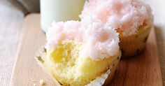 Find ouhat why taste members adore these little coconut ice cakes. Iced Cake Recipe, Cupcake Recipes, Baking Recipes, Cupcake Cakes, Mini Desserts, Delicious Desserts, Yummy Food, Lemon Drizzle Cake, Ice Cake