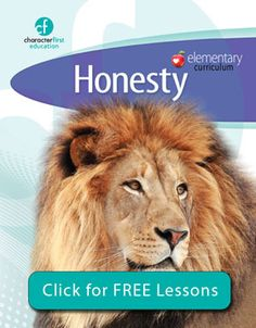 Character First: free lessons for character development.  Such a great resource!