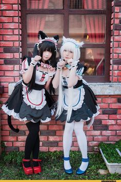 nekopara,Vanilla,Chocola,Anime Cosplay,Anime,аниме,nekomimi,Animal Ears,Kemonomimidae, Девушки с ушками - COSPLAY IS BAEEE!!! Tap the pin now to grab yourself some BAE Cosplay leggings and shirts! From super hero fitness leggings, super hero fitness shirts, and so much more that wil make you say YASSS!!!