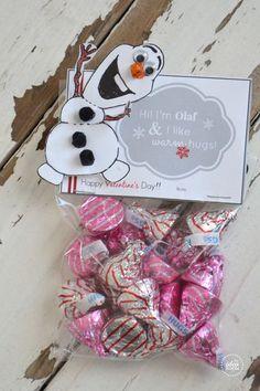 FREE Olaf Valentine's Printables