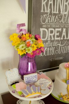 Tangled Inspired Rapunzel Princess Party » Hello Love Designs
