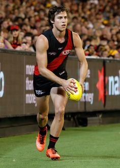 Andrew McGrath of the Bombers in action during the 2017 AFL round 01 match between the Essendon Bombers and the Hawthorn Hawks at the Melbourne Cricket Ground on March 25, 2017 in Melbourne, Australia.