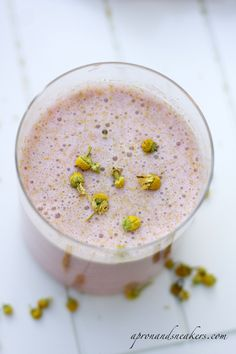 ... Traveling in Italy and Beyond: Chamomile, Strawberry & Quinoa Smoothie