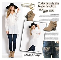 """""""Untitled #6584"""" by helenevlacho ❤ liked on Polyvore featuring Grace in LA and Sweet Romance"""