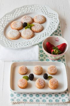Infantes, un dulce hecho con almendras que en versión bocado resulta ideal para acompañar el café. Cheesecakes, Cupcakes, Kitchenaid, Cereal, Cookies, Breakfast, Food, Almonds, Dessert Recipes