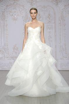 Hazel (Vestido de Novia). Diseñador: Monique Lhuillier. ...