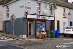 The Boker, which is a popular newsagents that is situated on Bride Street.