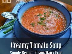 Grano sencilla Lácteos sopa de tomate libre de 365x274 sencilla sopa de tomate