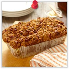 Pumpkin Pecan Loaf Cake Recipe