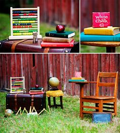 Back 2 School Mini Session. love this idea school pics are just never worth the money they cost! this is a cute way to remember the beggining of a new year!