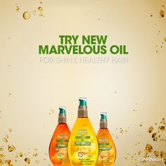 Get shiny, healthy hair with our three Marvelous Oil blends. Learn more by clicking on the pin!