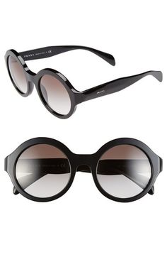 7be4deb6e8c Just love these Prada Sunglasses with the golden vine entwined around a  classical round frame.